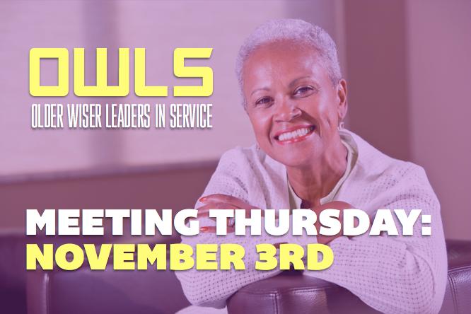 OWLS Meeting – 11/3