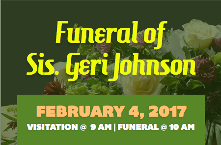 Funeral of Sis. Geri Johnson