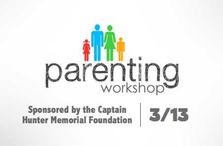 Parenting Workshop – March 13th