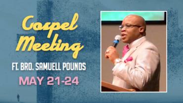 Spring Gospel Meeting