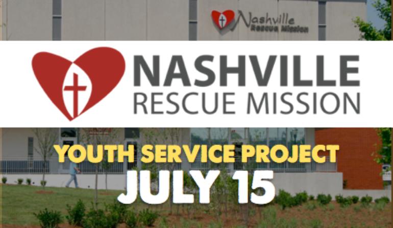 Service Project: Rescue Mission – 7/15