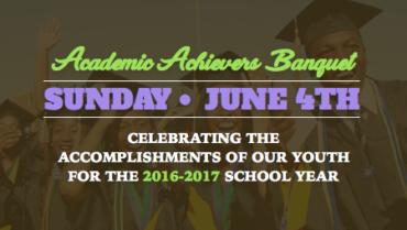 Academic Achievers Banquet – 6/4