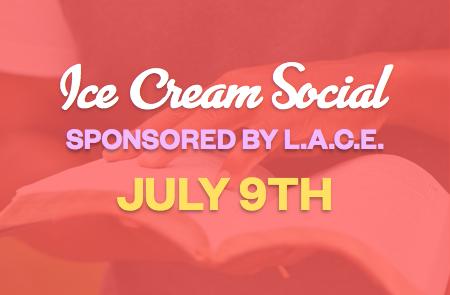 L.A.C.E. Ice Cream Social