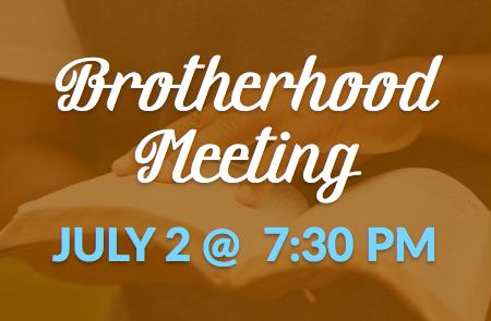 Brotherhood Meeting