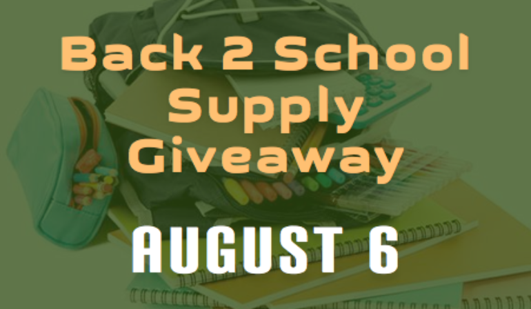 Back to School Supplies Giveaway – 8/6
