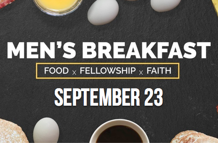 Men's Breakfast – 9/23