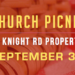 Church Picnic – 9/30
