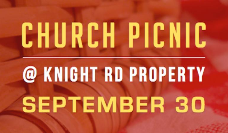 Church Picnic – 9/30