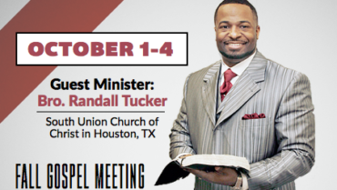 Gospel Meeting – 10/1-10/4