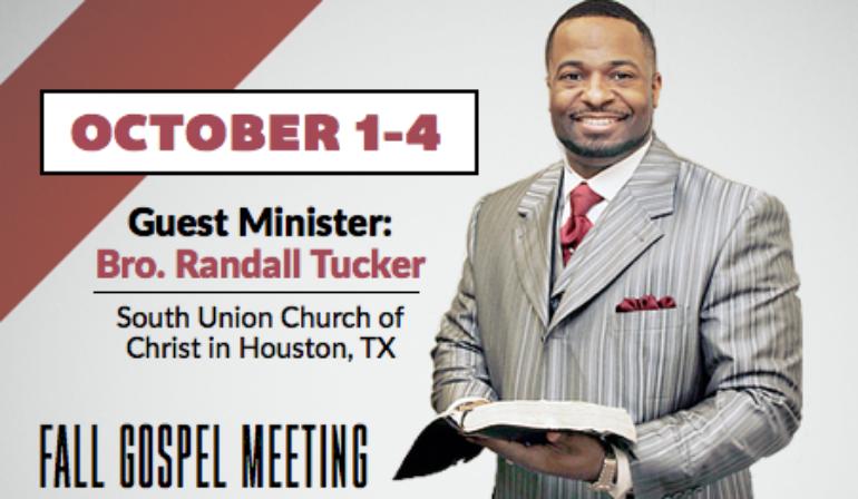 Gospel Meeting – 10/1-10/4