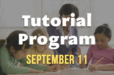 Tutorial Program Returns – 9/11