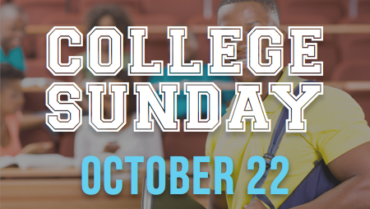 College Sunday – 10/22