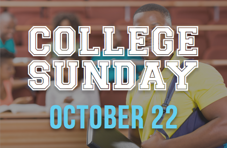 College Sunday – 10/22
