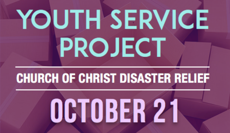 Youth Service Project – 10/21