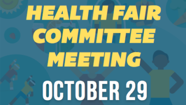 Health Fair Committee Meeting – 10/29