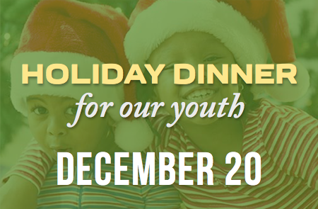Youth Holiday Dinner – 12/20