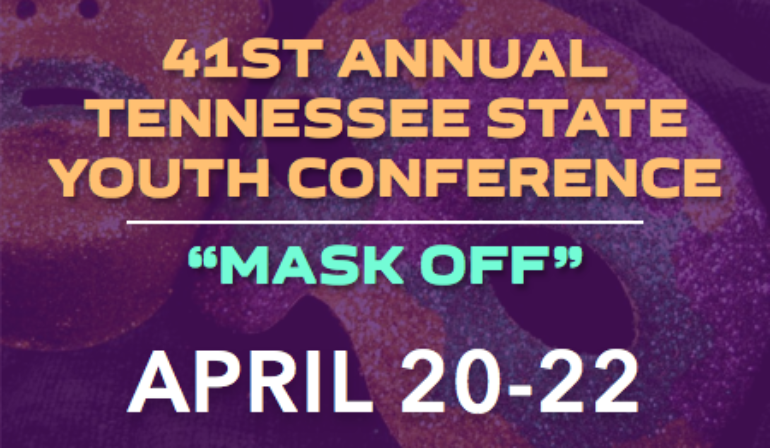 TN State Youth Conference – 4/20-4/22