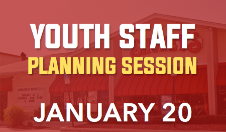 Youth Staff Planning Session – 1/20