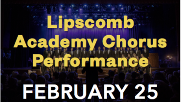 Lipscomb Academy Chorus – 2/25